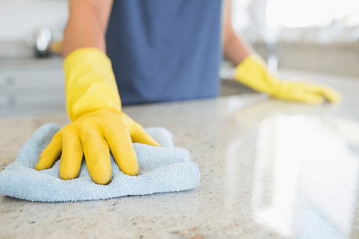 First-Time House Cleaning