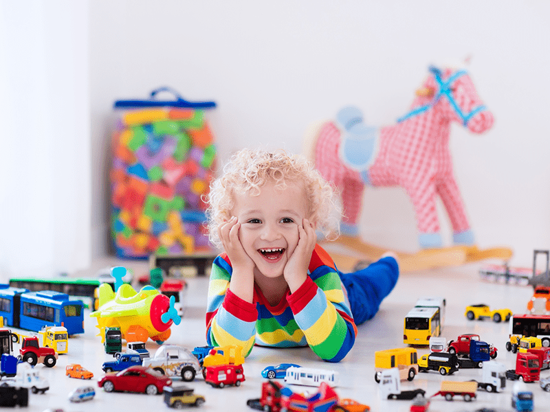 Organizing tips for kids playroom