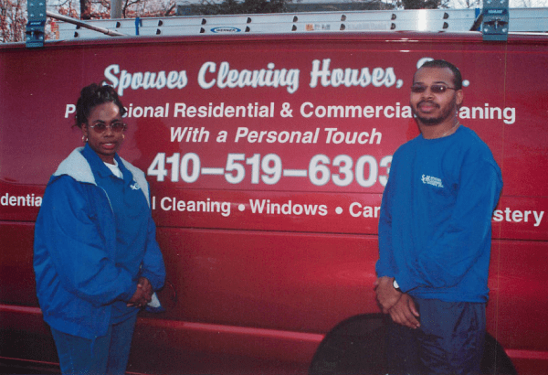 Spouses Cleaning Houses Owners