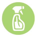 Spouses Cleaning Houses spray icon
